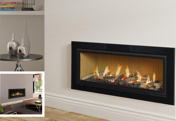 Infinity 890 Hole in the wall Gas Fire