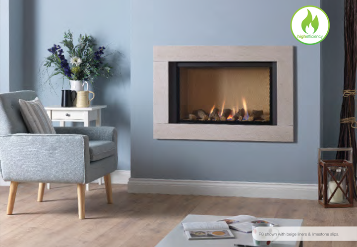 Paragon P8 Hole in the wall Gas Fire