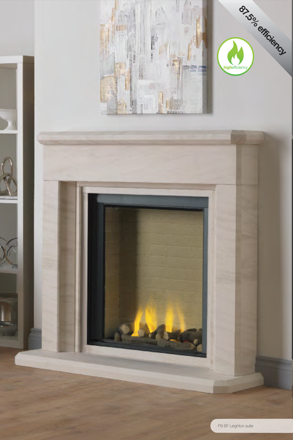 Paragon P9 Balanced Flue Gas Fire