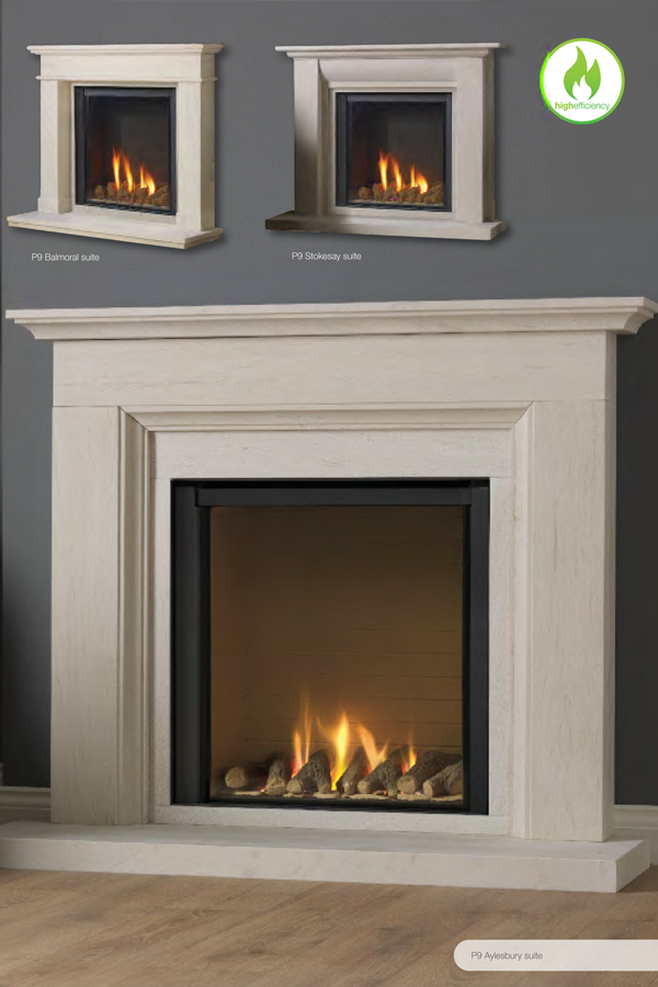 Paragon P9 Gas Fire