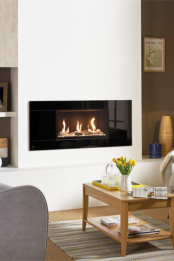 Gazco Studio Hole in the wall Gas Fire
